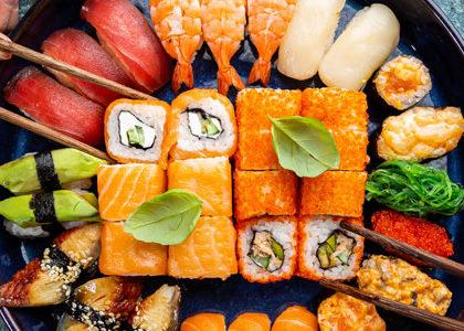 La nourriture japonaise à Nice
